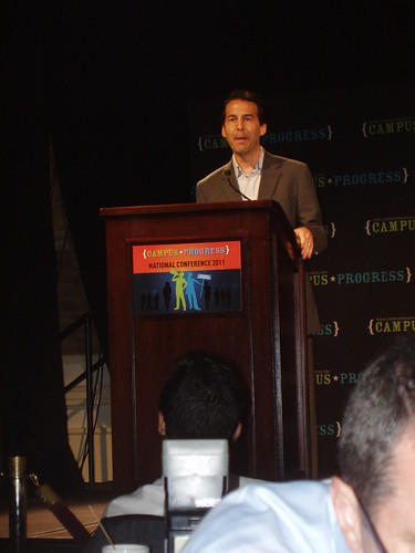 David Halperin, founder of Campus Progress speaking | by Aidemocracy2