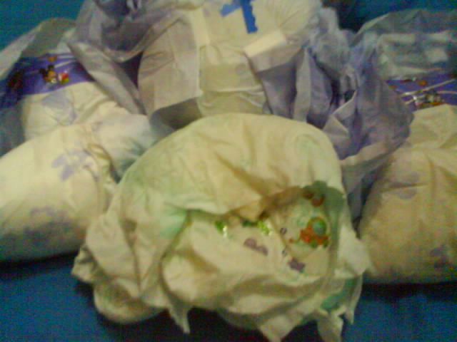 Adult diaper dirty