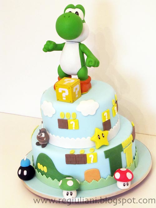 bolo super mario bros super mario bros cake renata giuliani flickr. Black Bedroom Furniture Sets. Home Design Ideas