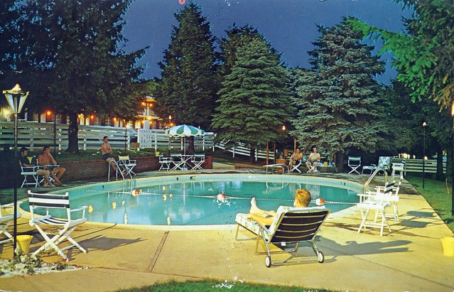 Gaslight Swimming Pool Autoport Motel State College Pa Flickr Photo Sharing