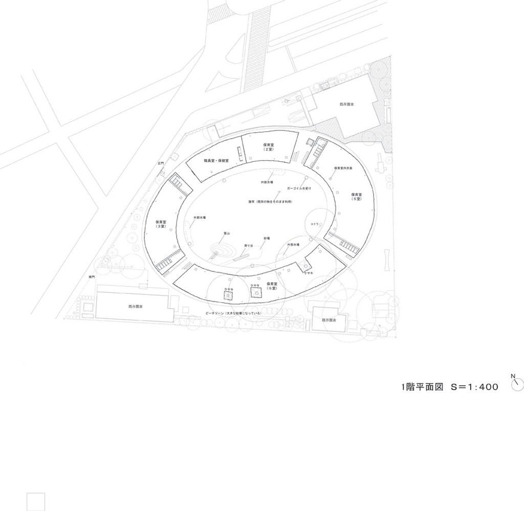 Tezuka Architects Fuji Kindergarten Drawings 05 1f Pla Flickr