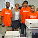 July 20, 2011 - EPA Administrator Lisa Jackson meets workers at the Round2 electronics recycling facility