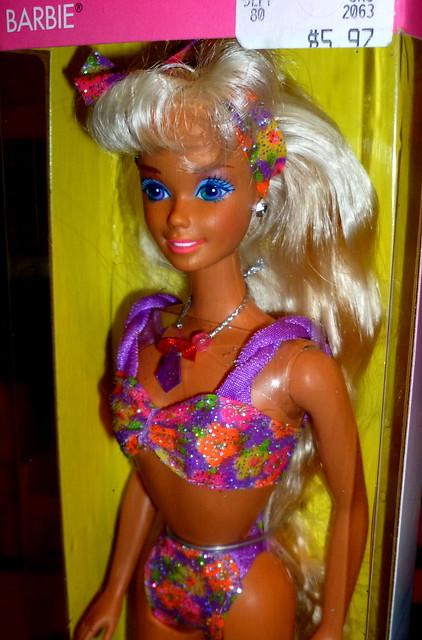 barbie glitter machine