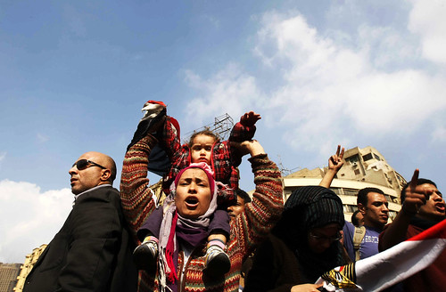 At Tahrir Square. Credit: Mohammed ele.jpgOmer/IPS. | by IPS Inter Press Service