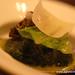 Black truffle explosion, romaine and parmesan Alinea Restaurant Chicago Gluten-Free (9)