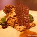 Chocolate, pickled blueberry, honey, peanut and creme brulee Alinea Restaurant Chicago Gluten-Free (18)