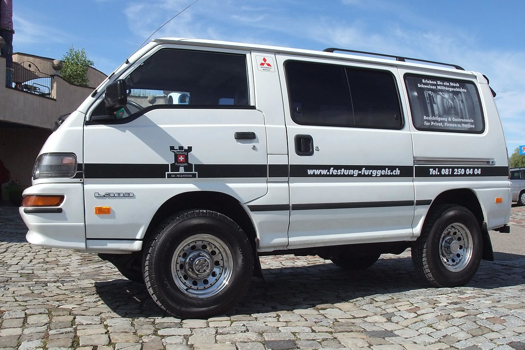 Mitsubishi L300 Country 4x4 Built 1994 Current Milage