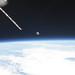 Moon on Earth's Horizon (NASA, International Space Station, 07/12/11)