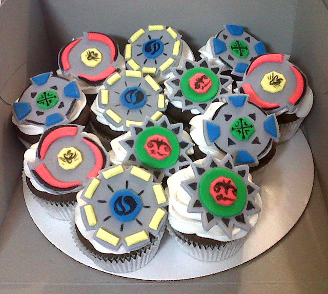 Beyblades Birthday Cake Toppers