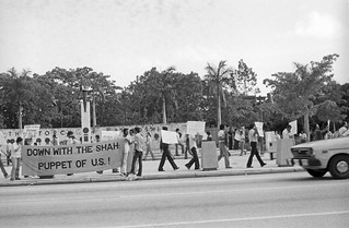Iranians Protest America: Miami 1978 | by T. Hammonds MSW