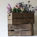 Vintage Rustic Wooden Crate Wedding Bushel Crate | The Wedding of my Dreams