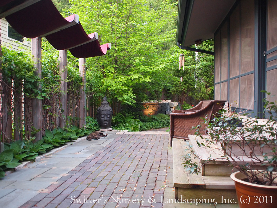 Minnesota Landscape Design Inspired By Bali Antique Clay