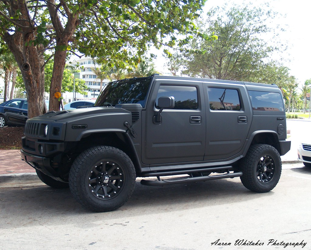 Flat Black H2 Miami Beach Fl Aaron Whitaker Flickr