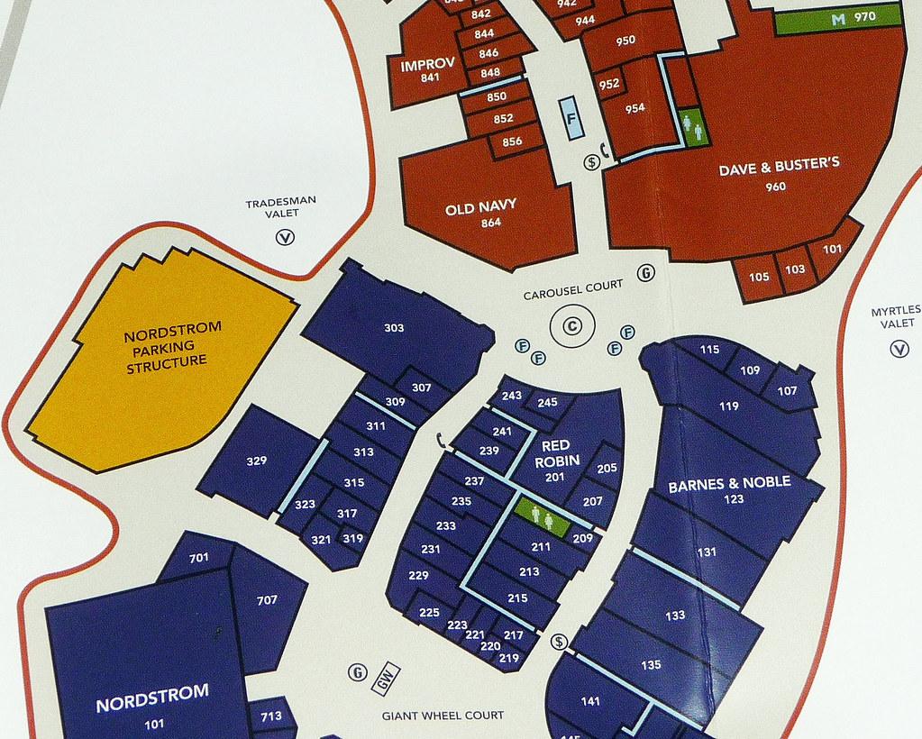 Irvine Spectrum Map Irvine Spectrum Center Map (4) | David Valenzuela | Flickr Irvine Spectrum Map
