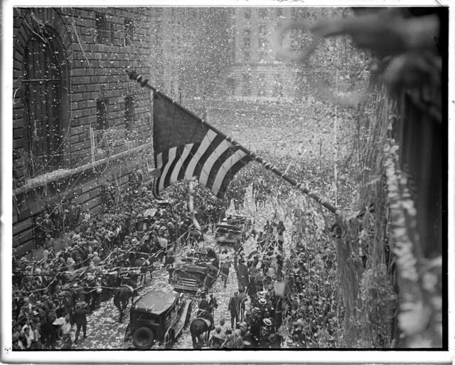 ticker tape parade flickr photo sharing