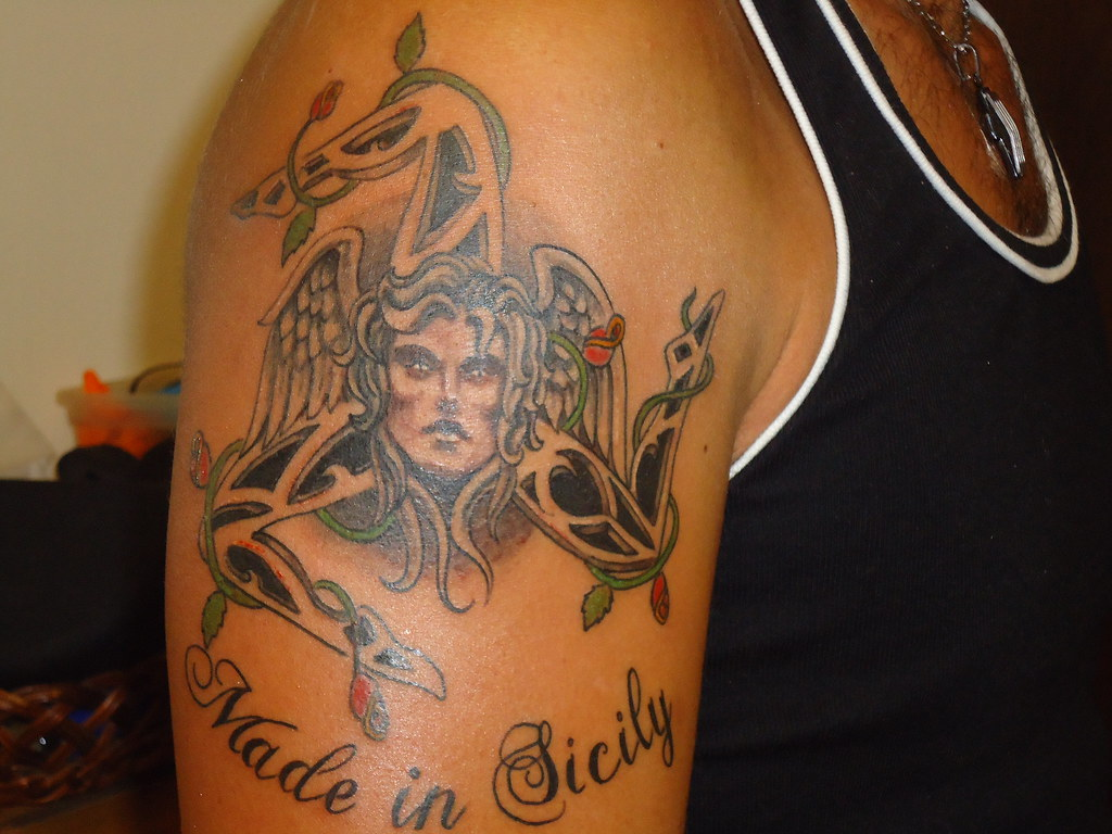 Sicilian tattoos for women