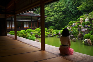 here comes the rain again (Tisyaku-in temple, Kyoto) | by Marser