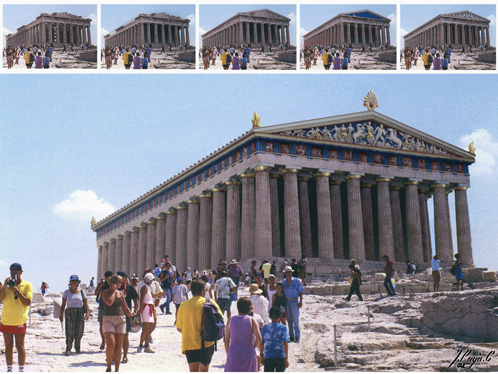 restored parthenon this was one of my first experiences