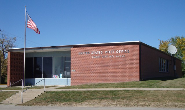 Post Office 64456 Grant City Missouri Flickr Photo