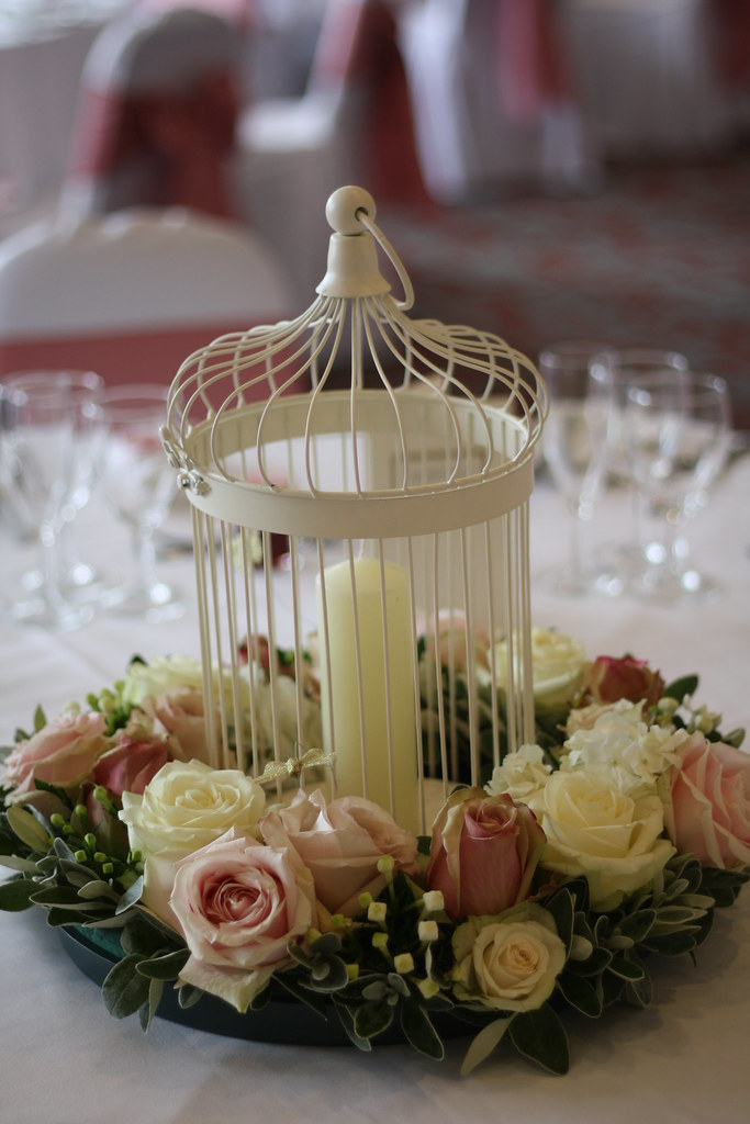 Wedding flowers dusky pink birdcage see more of our flor flickr wedding flowers dusky pink birdcage by passion for flowers mightylinksfo