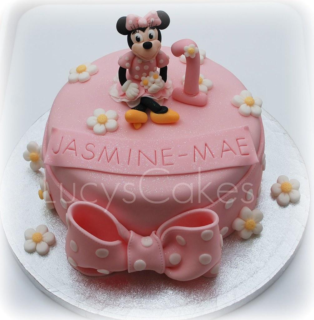 Minnie Mouse 1st Birthday Cake Visit Me And Like My Facebo Flickr