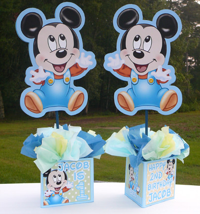 Baby Blue Baby Shower Decorations