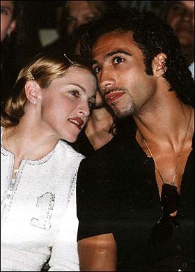 Madonna and Carlos Leon   Madonna with Carlos Leon, father ...