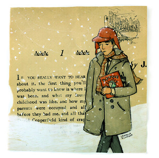 Holden Caulfield revisited original | by carmela alvarado art