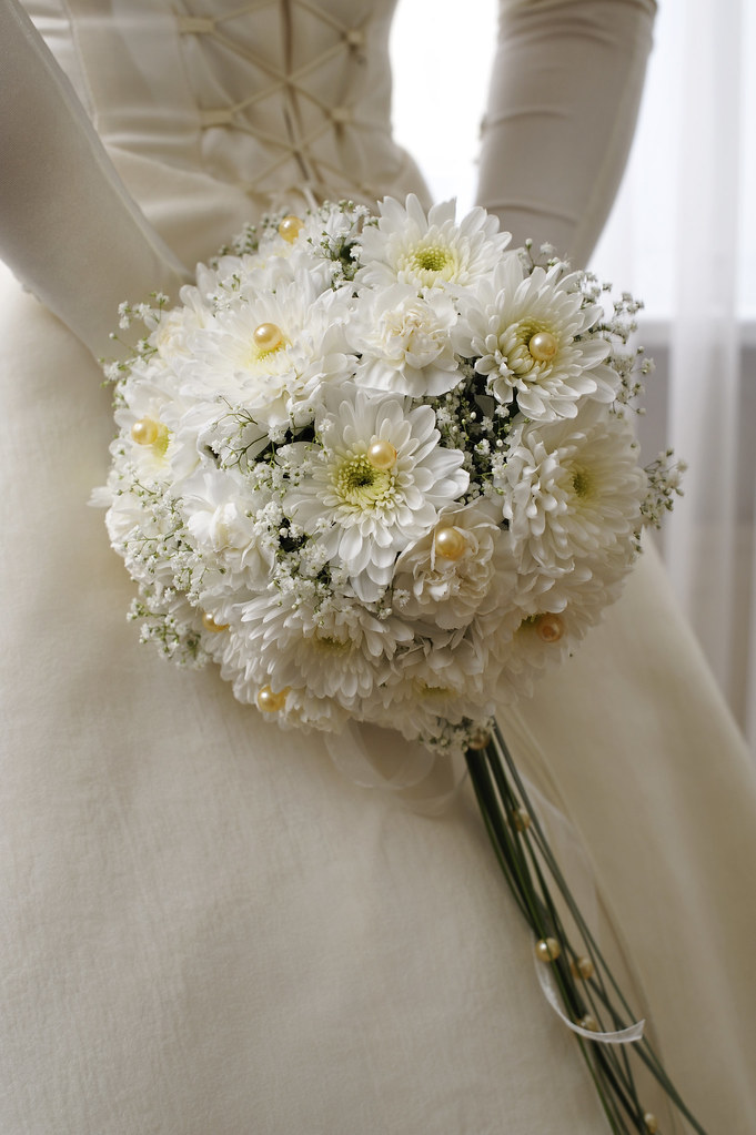 daisy wedding bouquet white bridal bouquet this is a beautiful and 3288