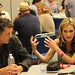 Maggie Lawson and Timothy Omundson