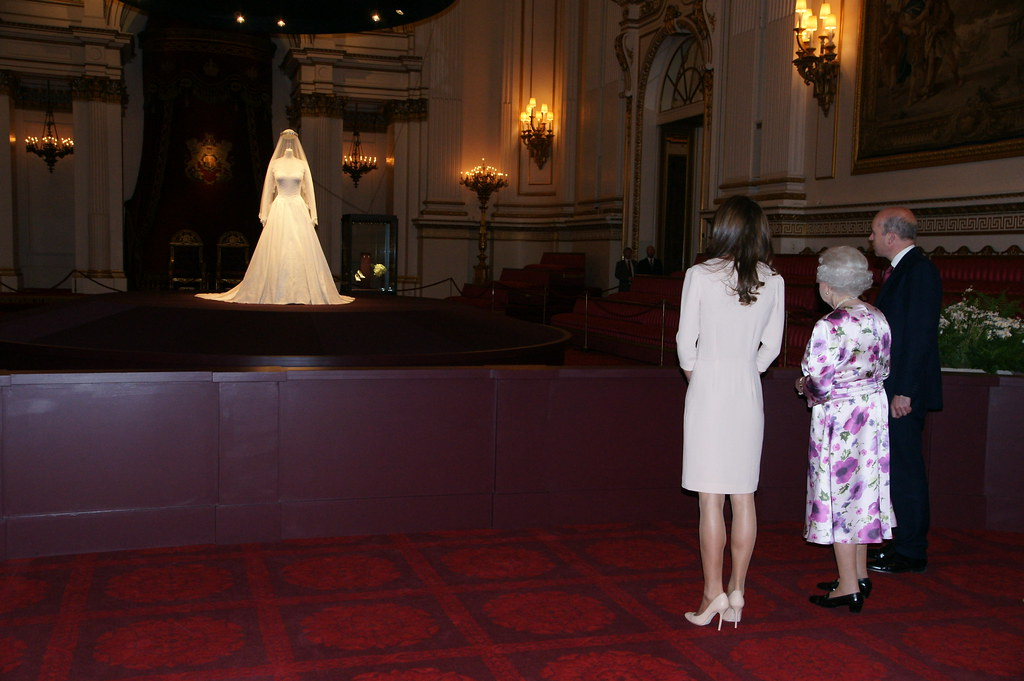 The Queen And The Duchess Of Cambridge Visit The Wedding D