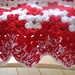 """""""Candy Cane"""" Red End Border and Edging"""