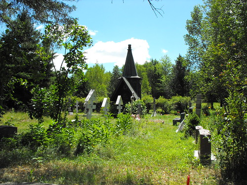 Russian Orthodox Holy Transfiguration Monastery Cemetery | by pegase1972