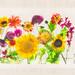 Garden Flowers - Right Panel