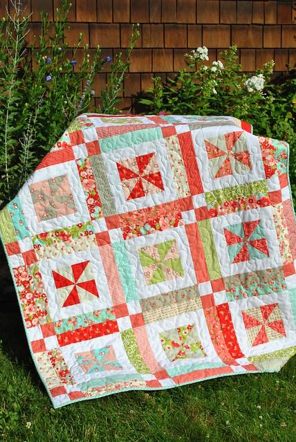 Lemonade Lollipop Quilt Pattern By Sweet Jane Ruby Fabric