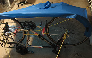 Mockup: Bicycle / Poncho Lean-To Shelter | by KC-Bike