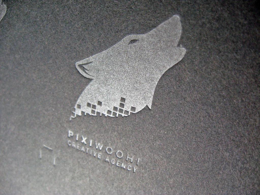 Letterpress wolf pixiwooh logo client pixiwooh creati flickr logo by dolcepress letterpress wolf pixiwooh logo by dolcepress reheart Gallery