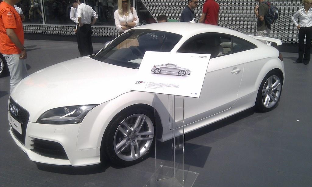 New White Audi Tt Rs Coupe Goodwood Festival 2011 New
