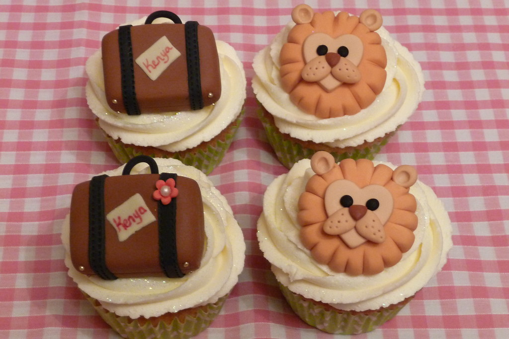 Kenyan Cupcakes Made For A Young Man And A Girl Friend Off Flickr
