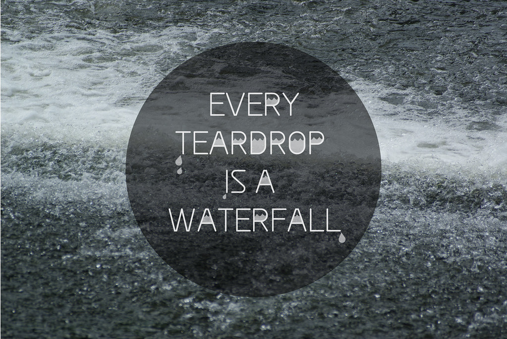 Coldplay Teardrop Is A Waterfall Lyrics Famous Waterfall 2018