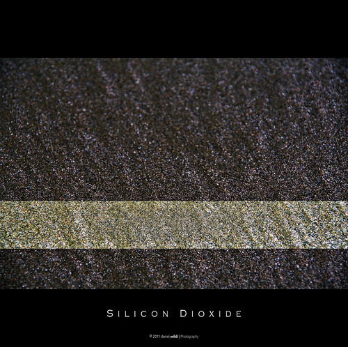 Silicon Dioxide (Si02) or more commonly known as sand! [Explore 2011-08-08 #374] | by Daniel Wildi Photography