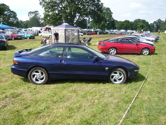 Glamis Car Show