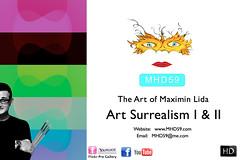 HD Art Painting Surrealismy I & II - NAME.001