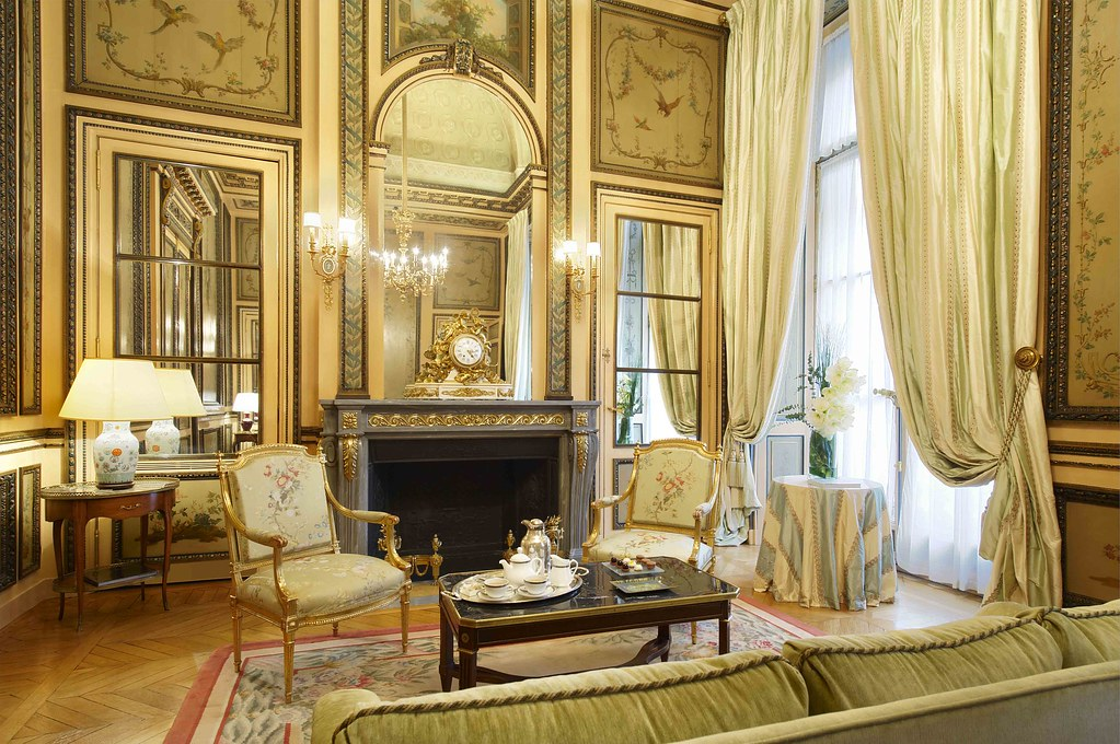 duc de crillon historical suite living room with their. Black Bedroom Furniture Sets. Home Design Ideas