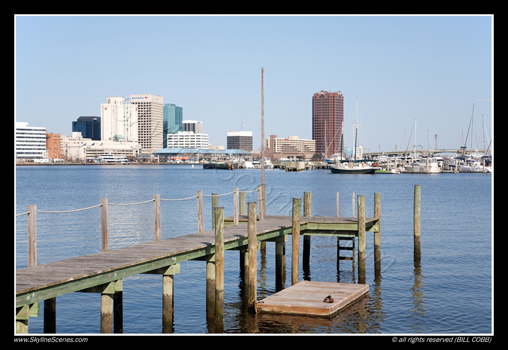 Norfolk Virginia Skyline Fishing Pier Norfolk