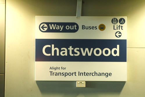 how to get to the m4 from chatswood