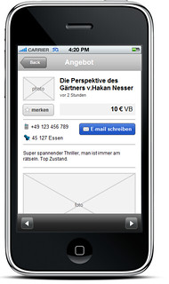 Markt.de - Advertisment page | by witflow