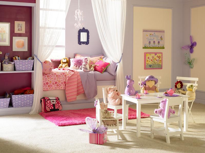 little girl 39 s bedroom main walls simplicity 640e 3