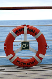 queen mary 2 life preserver | by David Lebovitz