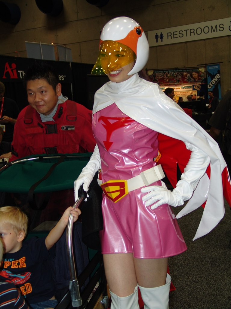 cosplay Battle of the planets
